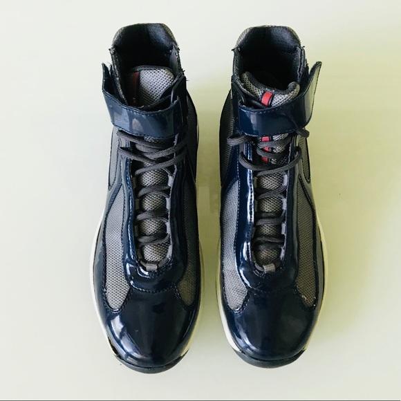 Prada Shoes | Prada Dark Blue Patent